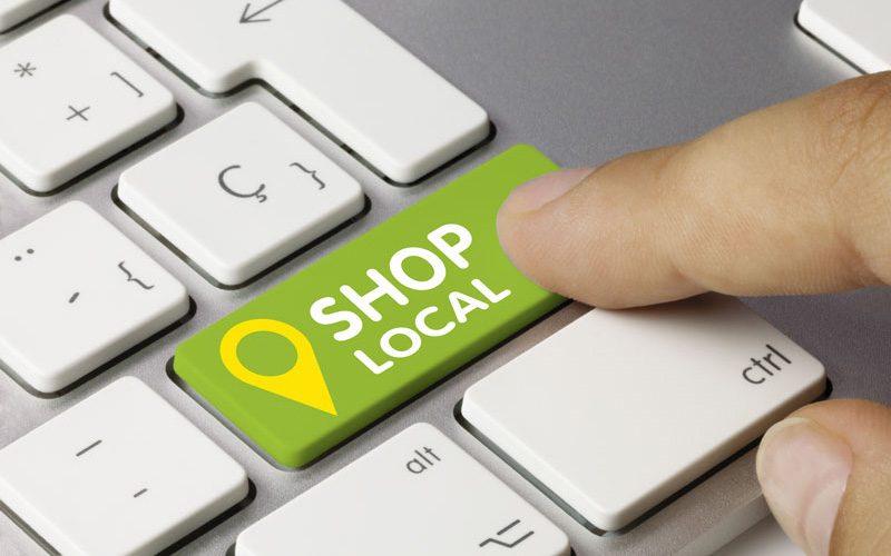 Shop local. Keyboard